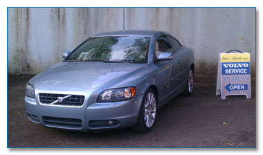 Newer late model Volvo service