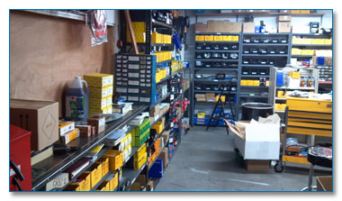 Volvo Parts Inventory, Portland, Oregon