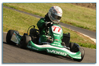 Vol-Tech sponsored Kart racing team